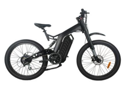 0 EAZbike TDE17 - 750w elektrisk sykkel - 100 km