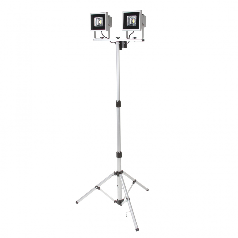 0 Arbeidslampe LED 2 x 20w - 2x1440 lumen 50000 t
