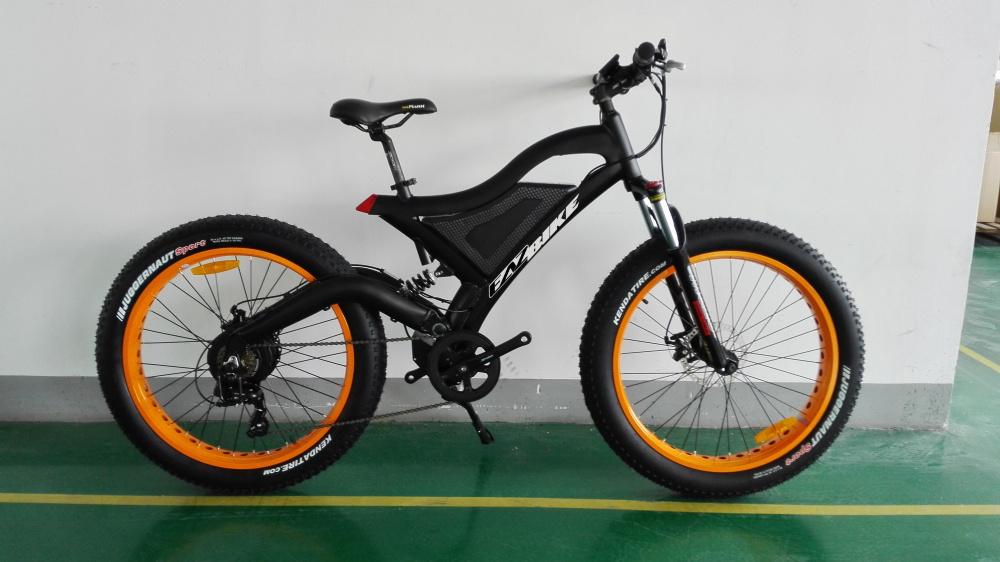 0 EAZbike TDE18 - Fatbike el-sykkel - 750W motor  - sort