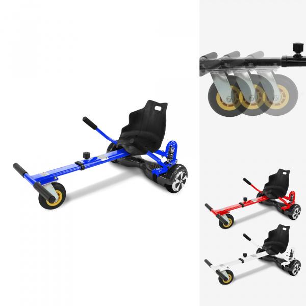 0 Kart for Hoverboard - Speedride FS2 - Rød