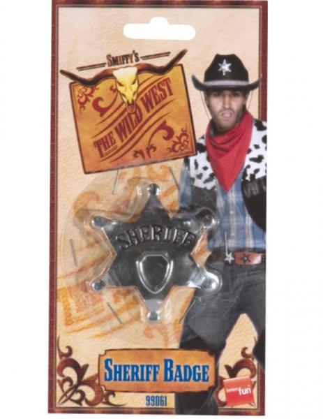 0 Sheriff stjerne skilt