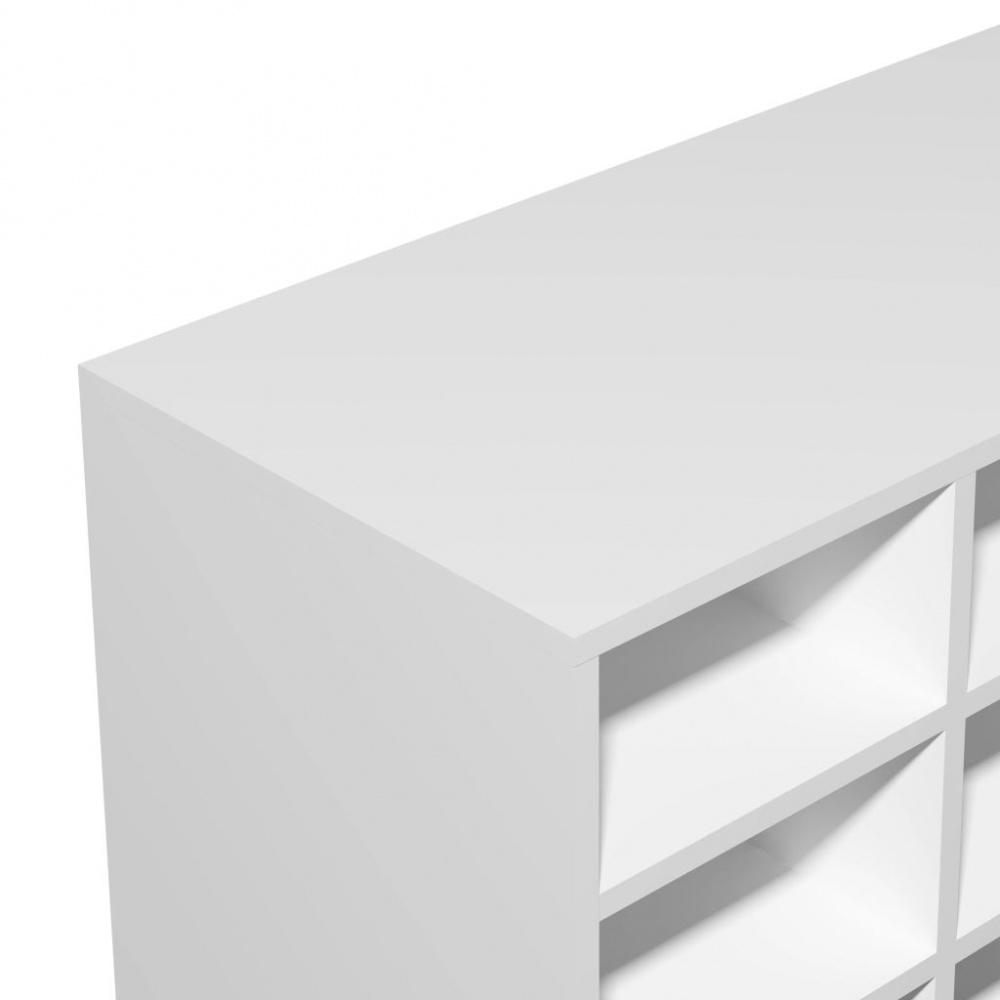 Uvanlig Skohylle - 92x33x67,5 cm hvit - Importpris.no AS RO-46