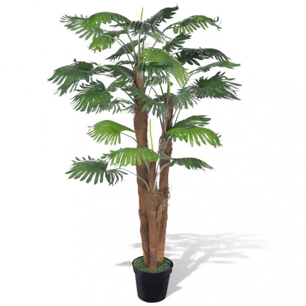 0 Kunstig palmetre med potte - 180 cm