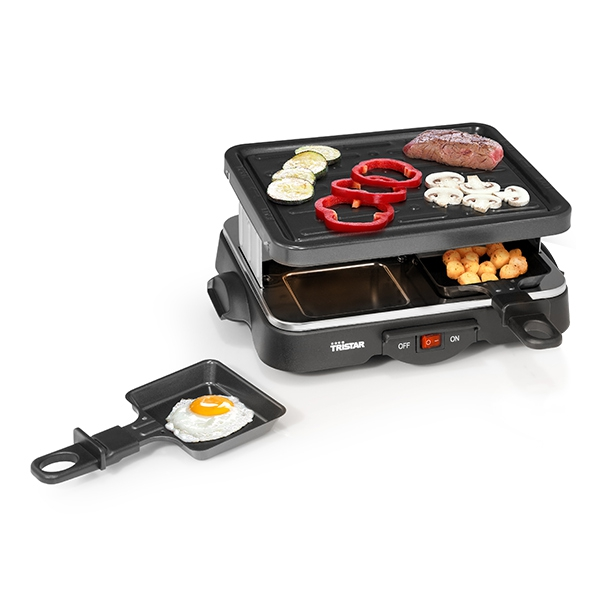 0 Raclette grill - 4 skuffer