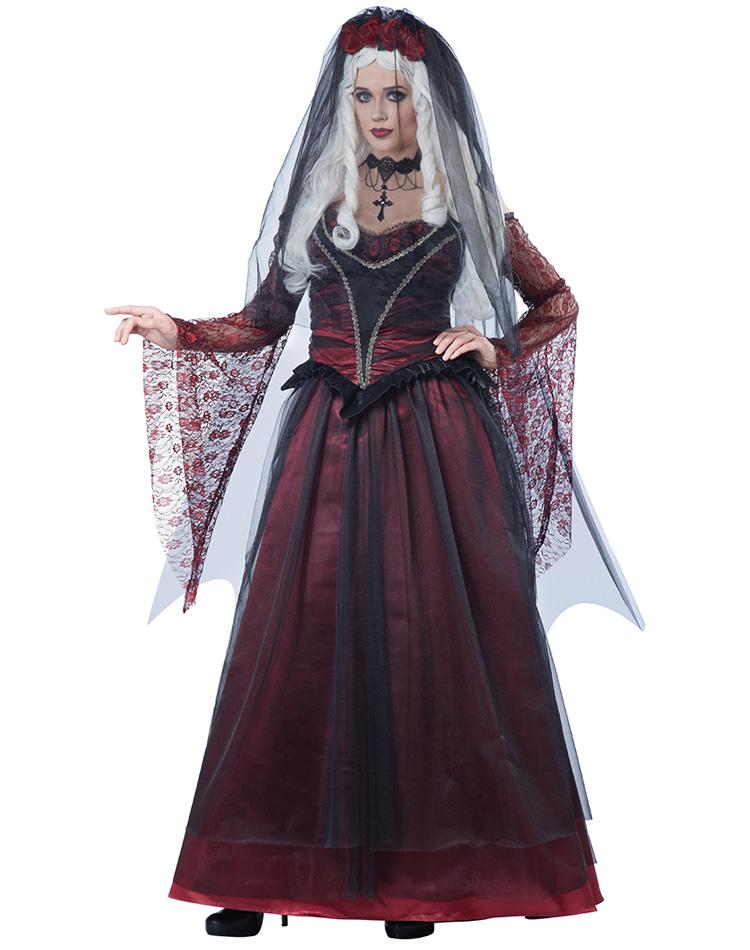 Lekkert vampyr brud kostyme - Importpris.no AS dea8f49ac62dc