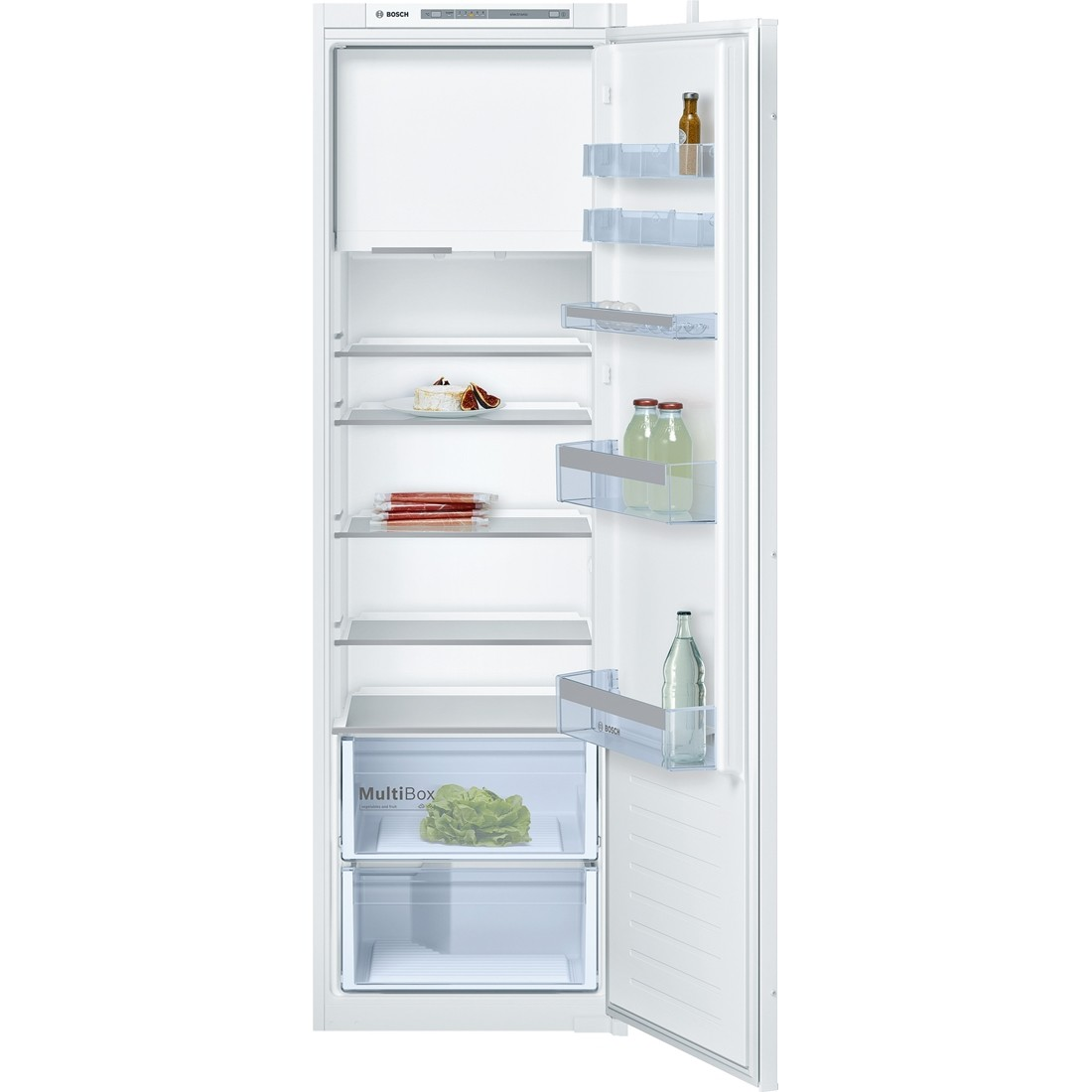Utestående Bosch Integrert kjøleskap med fryseboks - 178 cm - Helintegrert ET-01