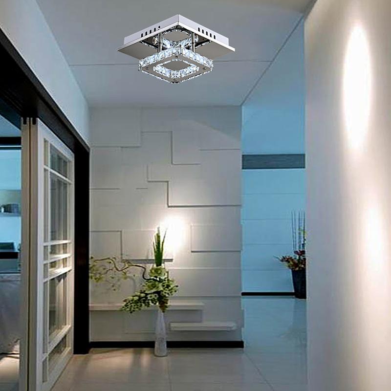 0 Moderne LED diamant Krystall taklampe (MD88060MERS)