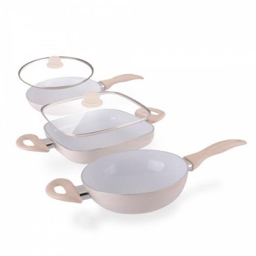 Appetitissime Ceramic Chef Pan Elegance Edition stekepanner (5 deler)