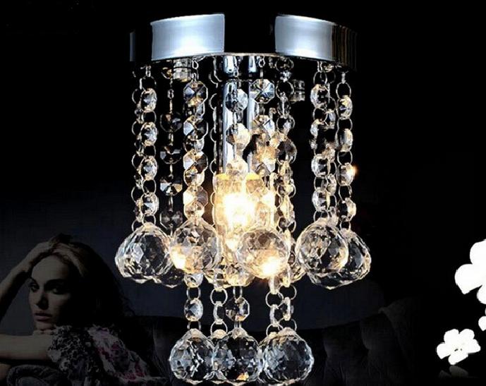 0 Liten men Lukseriøs Krystall taklampe (3038MERS)