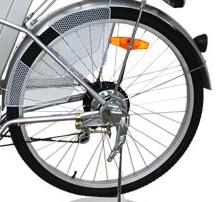 Bakhjul m/motor til Move el sykkel