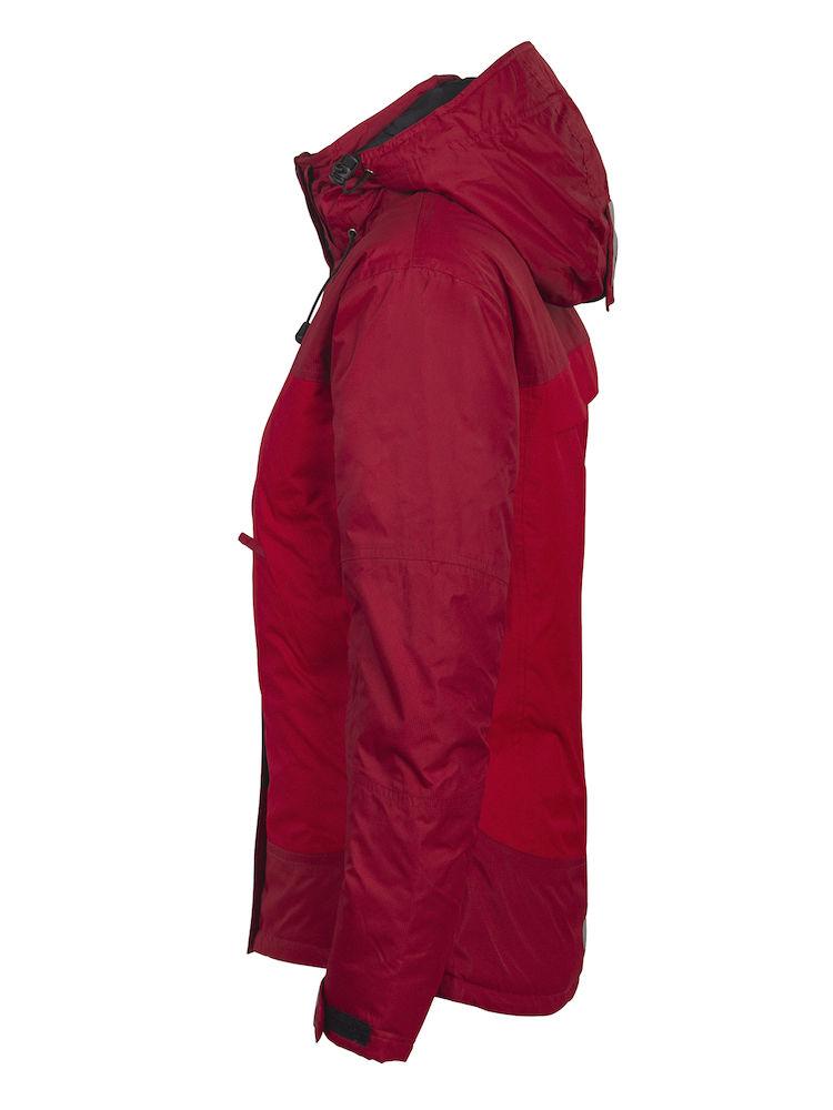 Grizzly Aspen lady Vind og vanntett jakke Rød