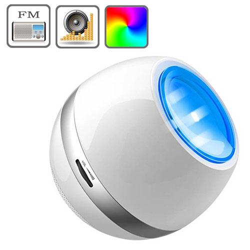 0 Multifunksjonell Oppladbar LED Farge stemningslys med FM Radio,