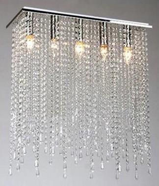 0 Krystall taklampe - Curtain design (MD10039MERS)