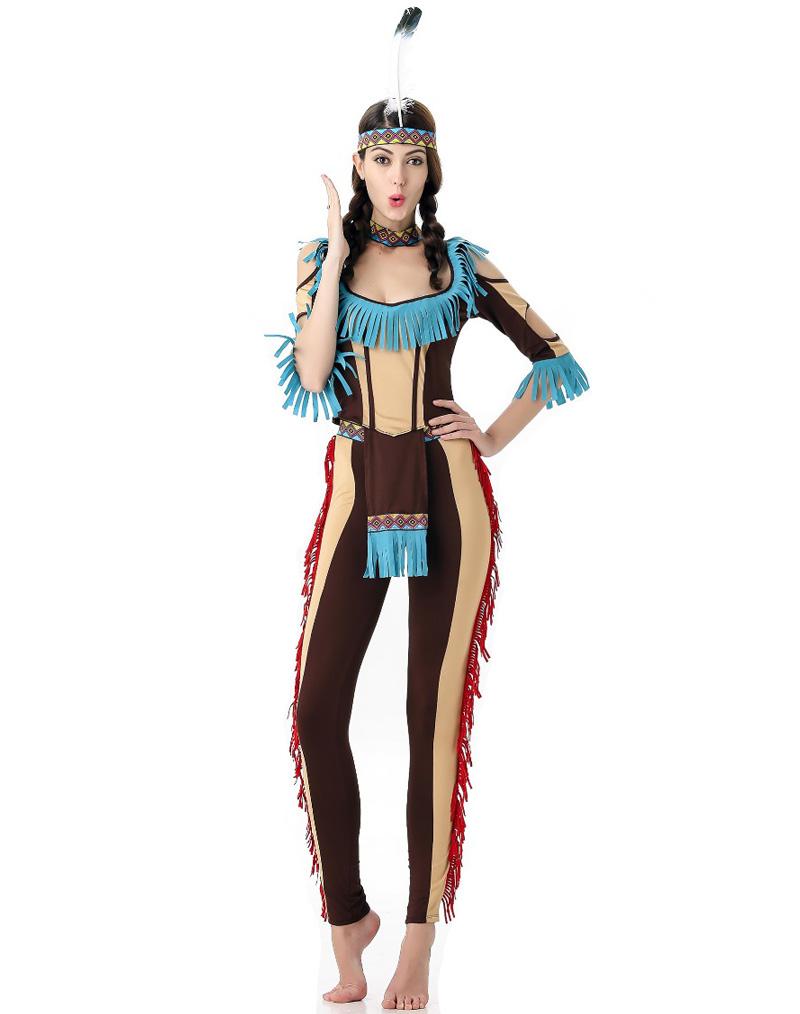 c35a0e8a Indianer Diva kostyme - Importpris.no AS
