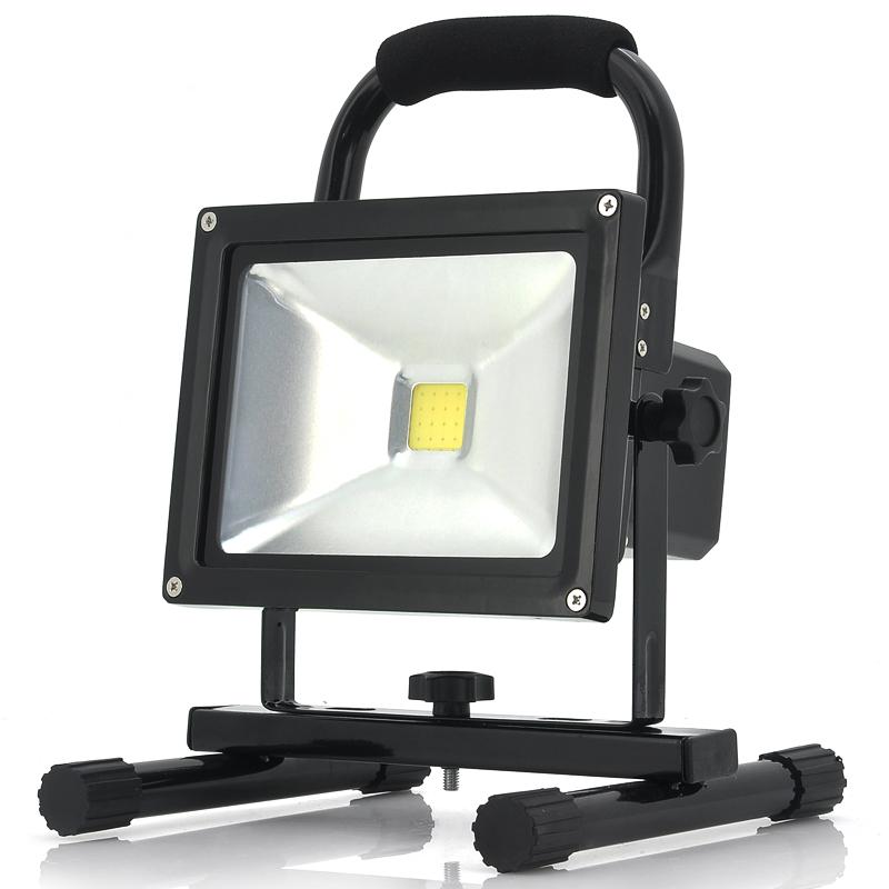 0 Bærbart Utendørs LED Camping Arbeidslys Lys - Oppladbart batteri