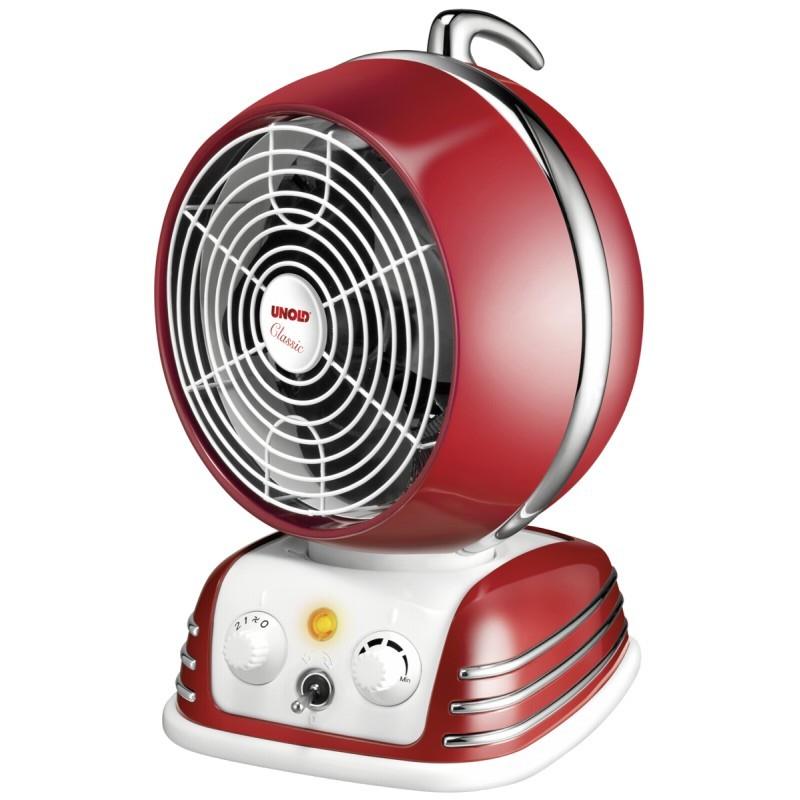 0 Unold retro varmevifte - klassisk rød