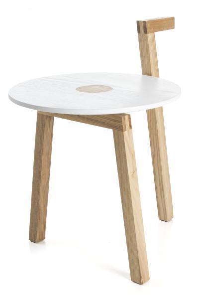 0 Bord rundt med håndtak - Ø:48,5 cm