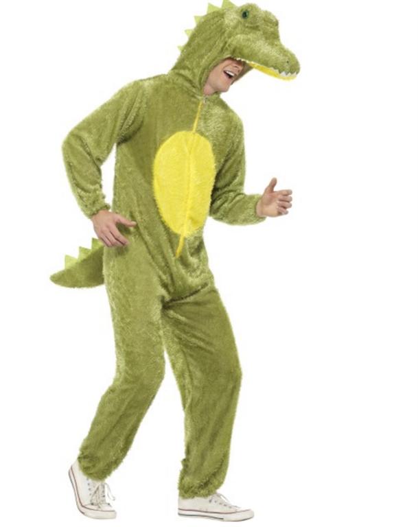0 Krokodille kostymedrakt