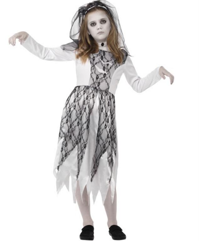Spøkelse Brud kostyme - Importpris.no AS 40da02cda42d1