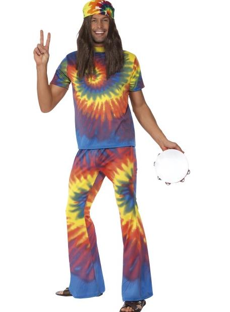 f5e8ab85 1960's Hippie mann kostyme med slengbukser - Importpris.no AS