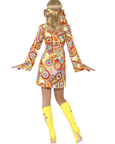 4bdabc1b 1960's Hippie kostyme - dame - Importpris.no AS