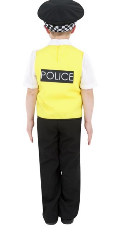 politi kostyme barn