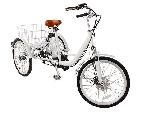 0 DEMO - Ferdig montering elektrisk sykkel med 3 hjul