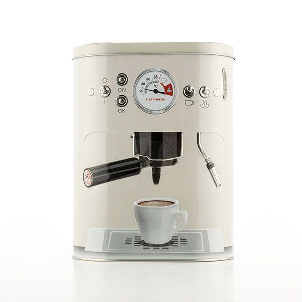 0 Vintage Coffee Machine Metallboks