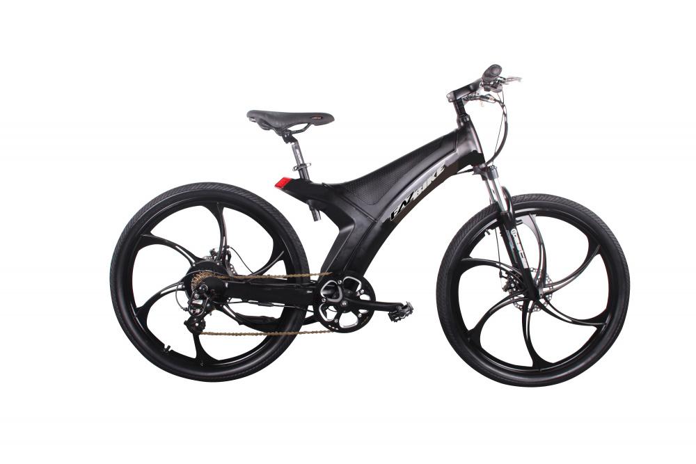 0 EAZbike - Elektrisk sykkel med mag wheels