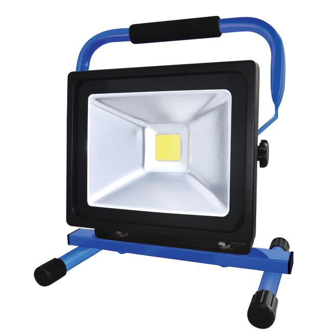 0 Arbeidslampe LED oppladbar 30 w