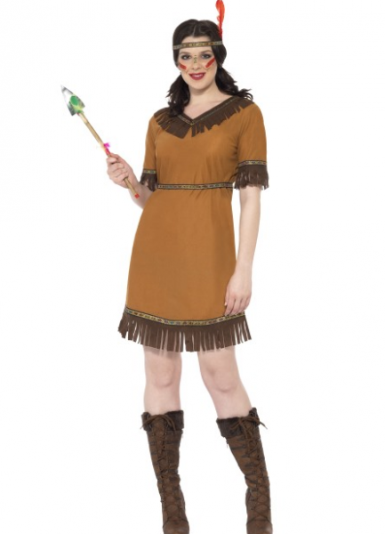 8a3696cb Native Amerikansk indianer kostyme - dame - Importpris.no AS