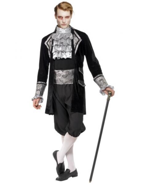 Skjelett kostyme jakke og kjole Importpris.no AS