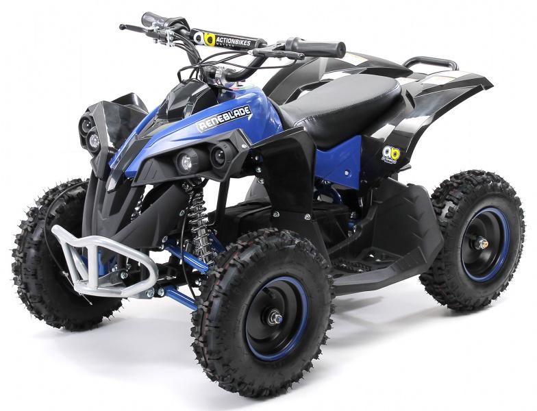 0 Mini ATV Reneblade1000w elektrisk sort-blå