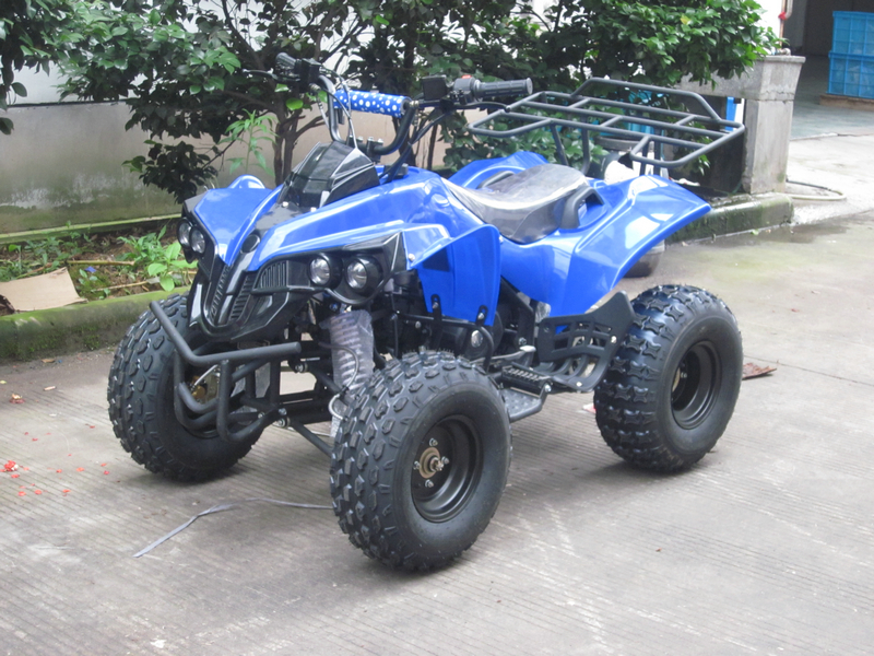 0 125cc ATV - 70km/t maksfart