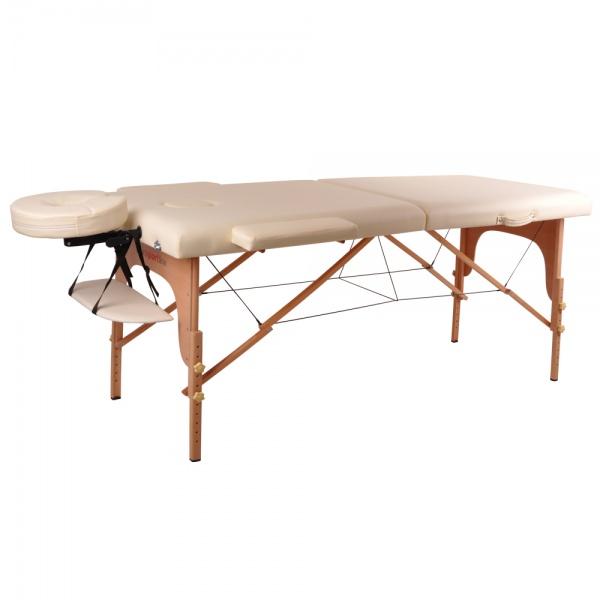 0 Massasjebord - krem (sammenleggbart)