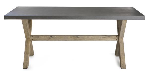 0 Betong bord med akasieben 90x180cm