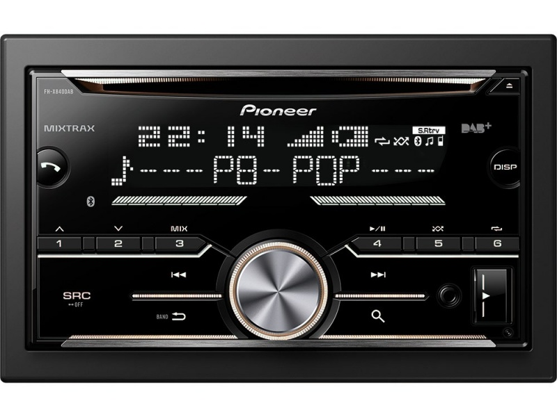 pioneer fh x840dab as. Black Bedroom Furniture Sets. Home Design Ideas