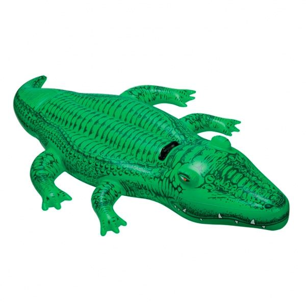 0 Oppblåsbar Krokodille