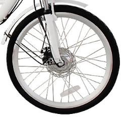 0 Fronthjul med motor til LIA-JX-T01