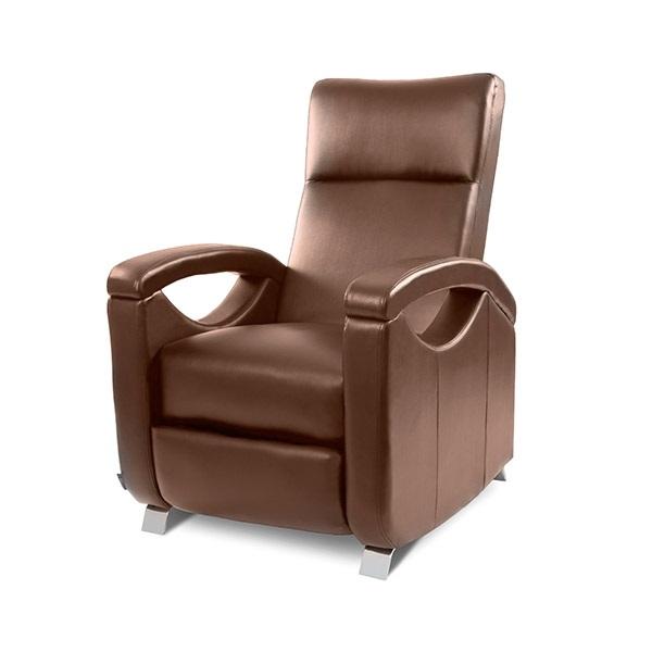 0 Avslappende massasjestol - brun