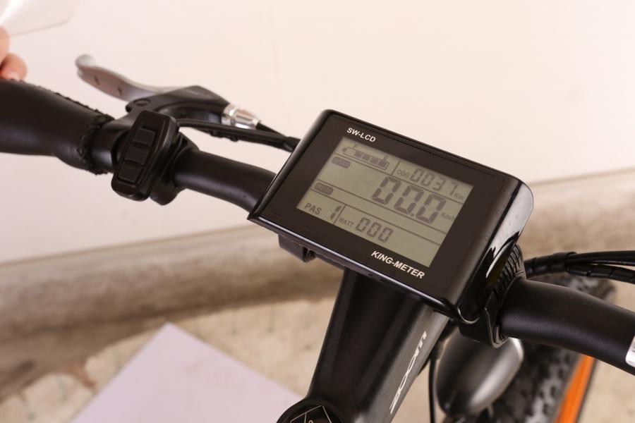 0 Display til 500 w fatbike